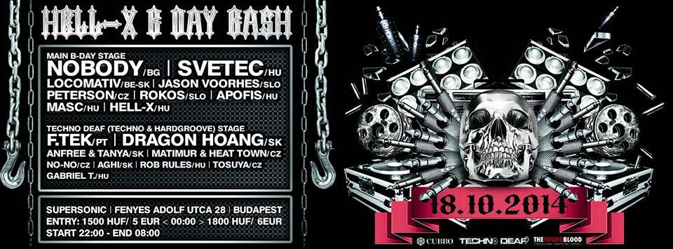 Hell-X B-Day Bash @ Budapest / Hungary